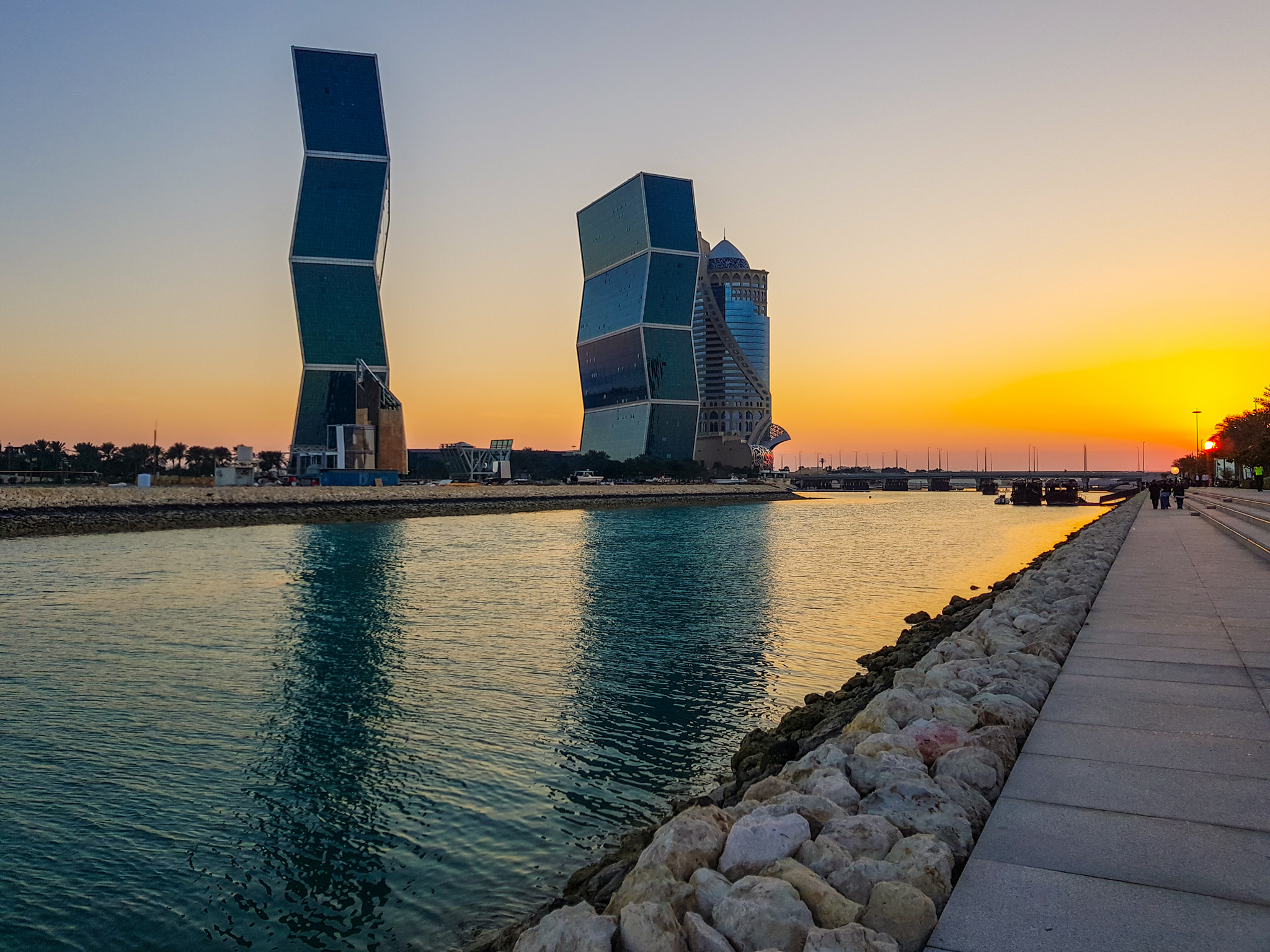 Sunset in Qatar