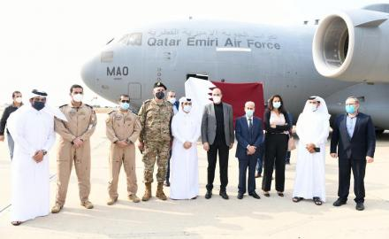 Qatar sends two fully-equipped field hospitals to Lebanon