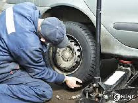 flat Tire Repair Doha / Mobile Puncture Repair Doha 30031241