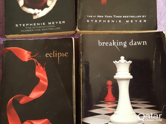 Twilight Books (Full series- 4 books)