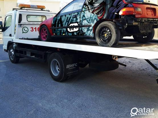 Call 31041144 qatar car towing 24h in qatar