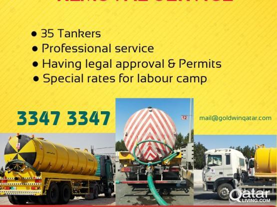 Sewage  Removal  service