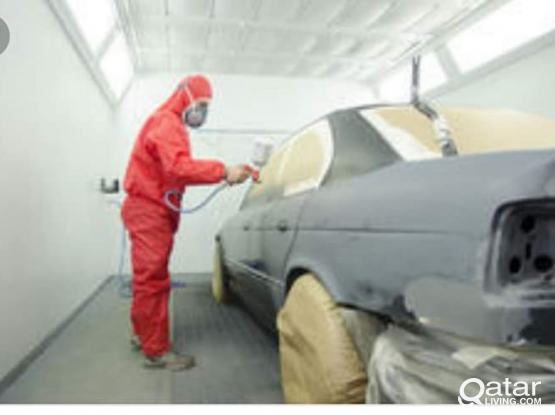 Car Denting, painting-Door to Door service