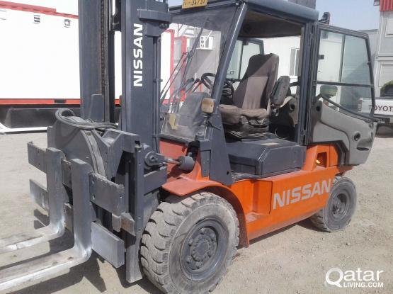 Nissan Forklift 5 ton