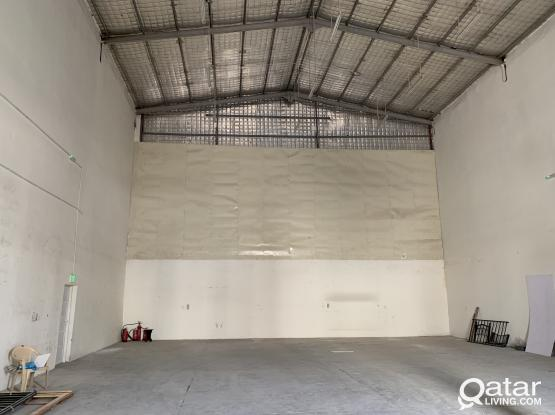 Approved store 250-SQM  for rent street 38 industrial area