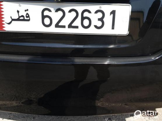 Car Number Plate is for Sale -622 631