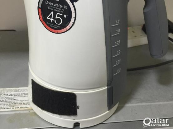 Electric Water Boiler (BRAUN)