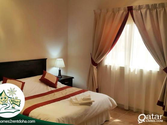1BHK FF FURNISHED APARTMENT IN THUMAMA ! ALL INCLUSIVE (SUNRISE)