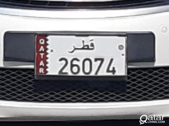 Plate No.26074