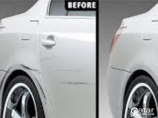 Denting and full Painting your sedan Car 1999qar