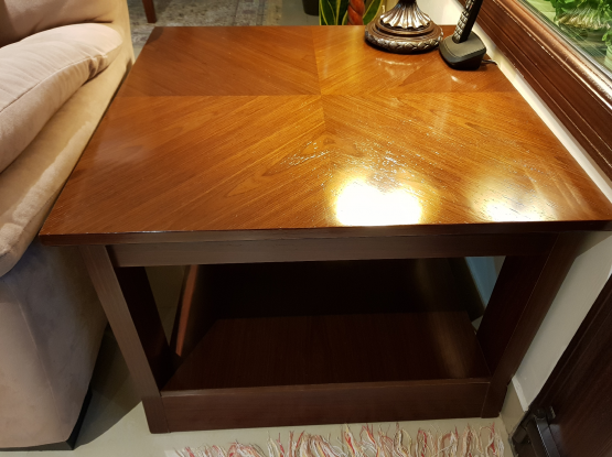 Solid Wood Coffee Tables 1+2 for Sale