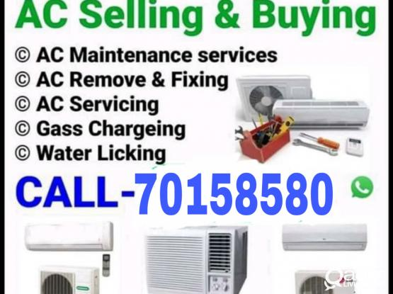 Ac fixing repairing with gas and cleaning call me-70158580