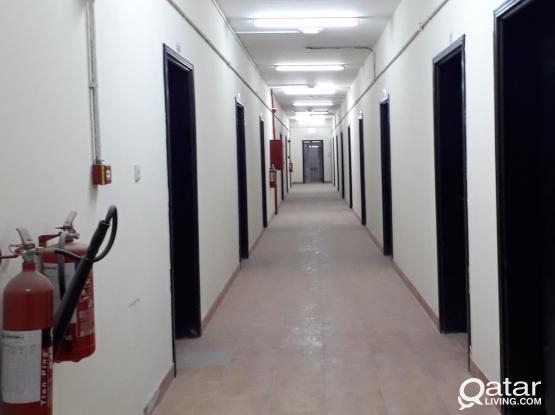 LABOUR CAMP FOR RENT 205 & 130 & 72 & 90 & 95 IN INDUSTRIAL AREA