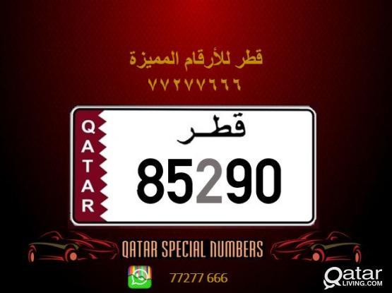 85290 Special Registered Number