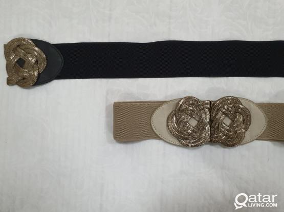 Ladies fashionable waist belt