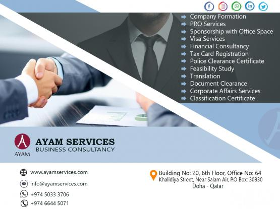 COMPANY FORMATION & DOCUMENT CLEARANCE