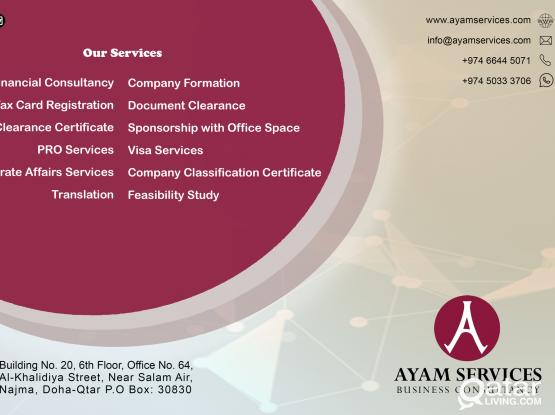 FOR STARTING A COMPANY IN QATAR - FORMATION OF COMPANY