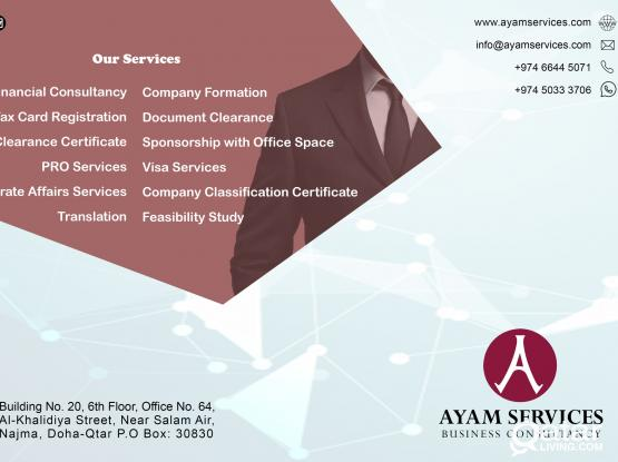 COMPANY FORMATION & LEGAL DOCUMENT CLEARANCE
