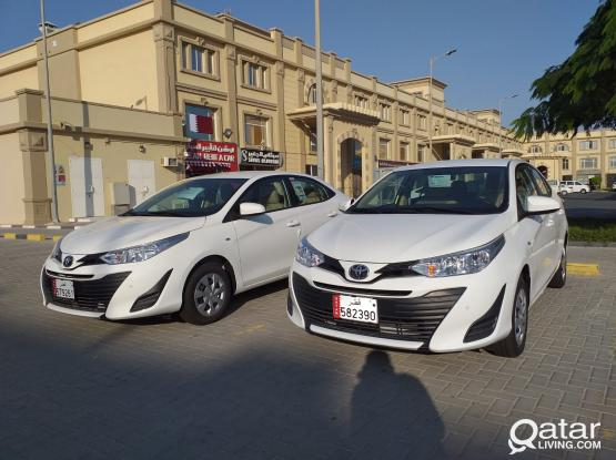 BRAND NEW TOYOTA YARIS -2020 MODEL AVAILABLE FOR  RENT ( NOW 0KM )CONTACT US:50399151/44182020/31696859