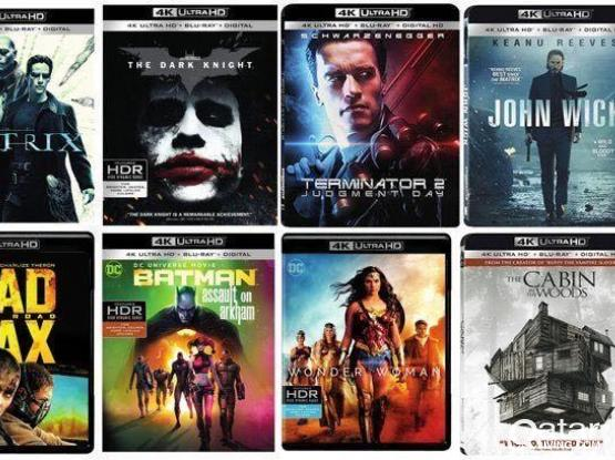 4K HDR movie files for sale For Your OLED TV's