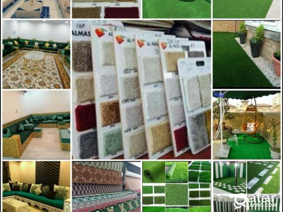 We are doing curtain, Sofa, Carpet, Wall paper..Please call 50175128/70710810/55376834