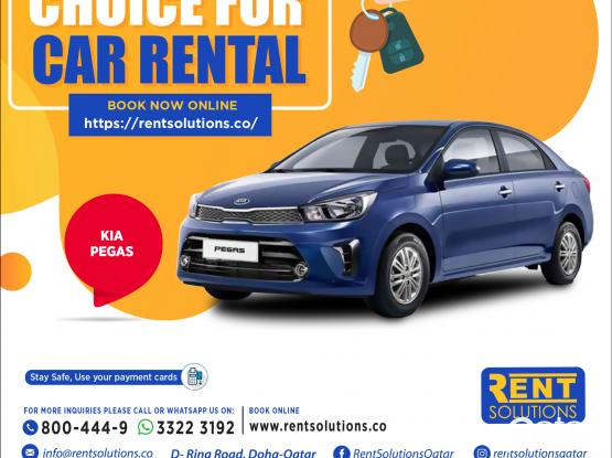 Kia Pegas Daily 95 QR - Monthly 1650 QR