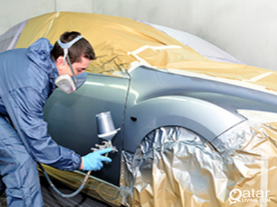 Car auto mechanic & dent painting.