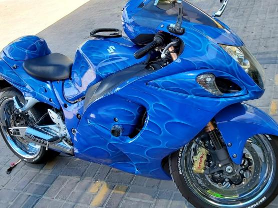Suzuki Motorcycle Hayabusa 2014