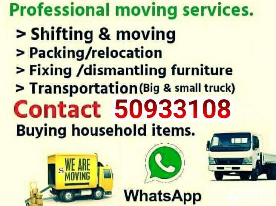 Qatar best shifting  moving  service call:-50933108