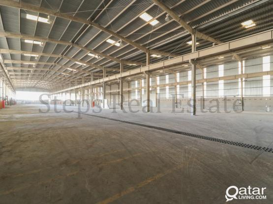 12000 Sqm Warehouse  For  Rent in Industrial Area