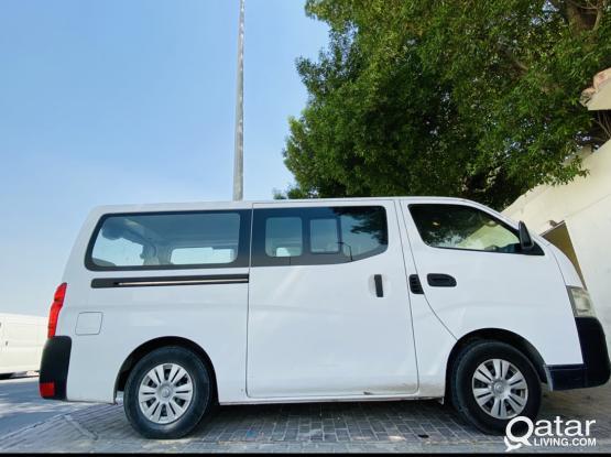 Urvan passenger van for sale 2016model