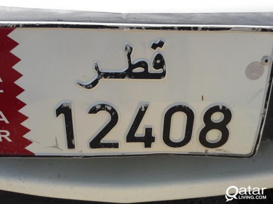 Private Car Plate Number For Sale 12408