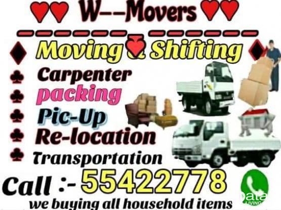 Shifting...moving... Transportation service...call me-55422778