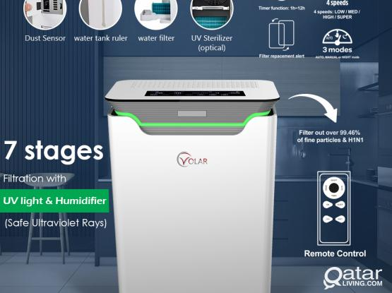 Volar Air Purifier & Humidifier with Uv