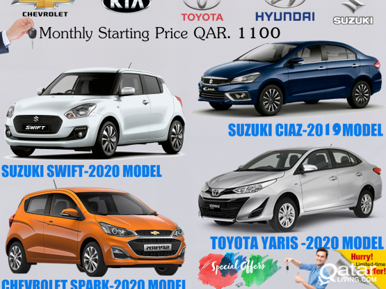 """ HIRE THE BEST CAR WITH THE BEST PRICE"" !! CONTACT US:4418 2020 / 5039 9151 /31696859"