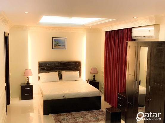 Brand new FF 1BHK hotel Apartment behin Dar Al Kutub