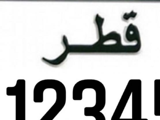 12345 Plate Number