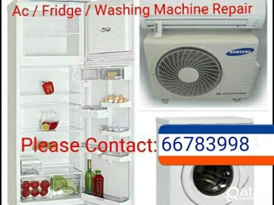 FRIDGE, WASHING MACHINE, AC REPAIR PLEASE CALL 66783998