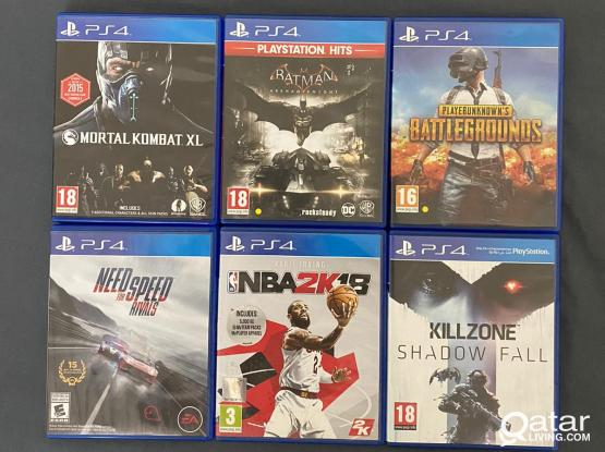 PS4 Games and Controller for Sale