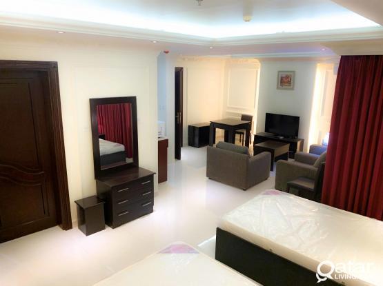 Brand new F/F 1BHK hotel Apartment behind Dar Al Kutub !