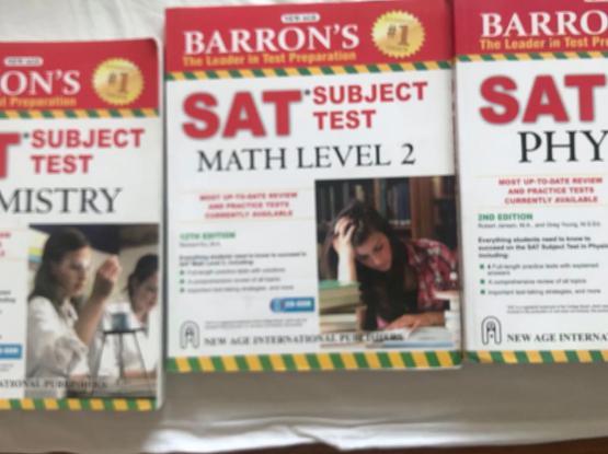 Barron's SAT Subject