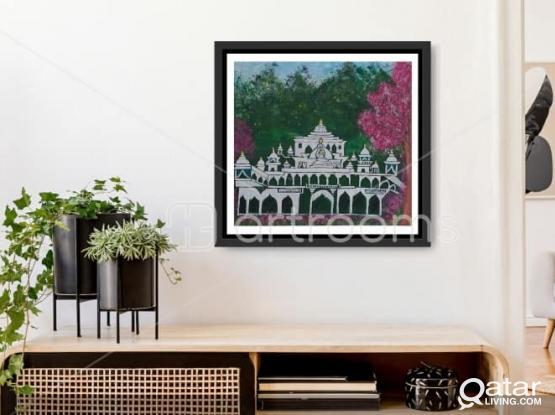Royal Palace -Painting