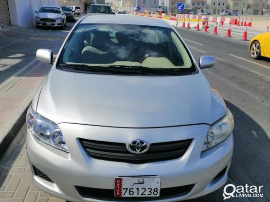 Toyota Corolla XLI 2009