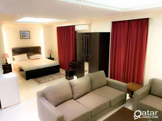 Fully Furnished 1BHK hotel Apartment at Old Al Ghanim