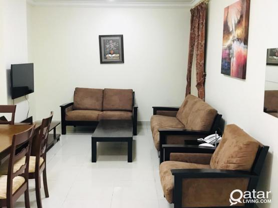 ''NO COMMISSION '1 bhk  furnished flat NEAR METRO  including w/e and internet