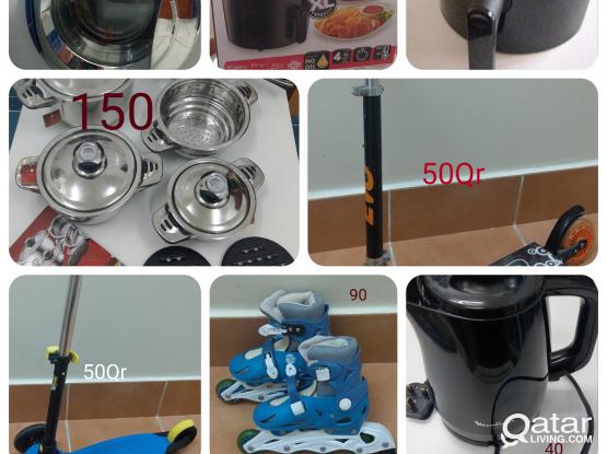 Lg washing machine,tefal airfryer+diffrent items.