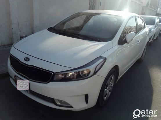 KIA CERATO AVAILABLE FOR RENT - CALL : 44 44 12 43 / 555 70 470