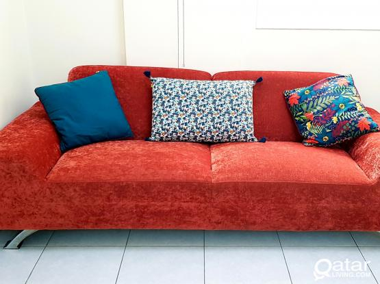 Home Centre 3 + 2 Seater Sofa for Sale