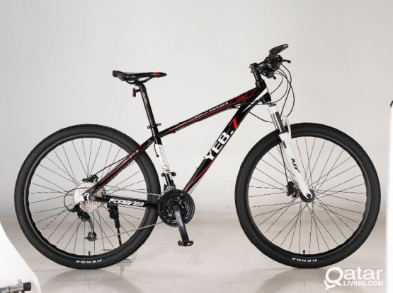 ORIGINAL FOREVER MTB BICYCLES WITH HYDRAULIC BRAKE