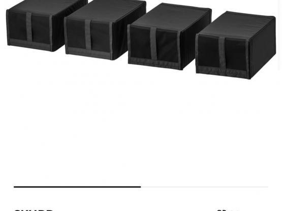 IKEA SHOE BOXES 5 pcs
